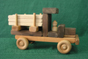 Handmade Wood Large Lumber Truck   D and ME Toys